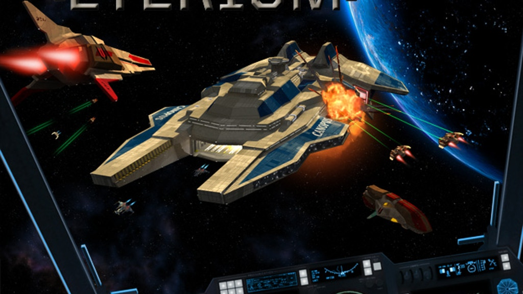 Eterium - A Space Combat Sim for Windows PC project video thumbnail