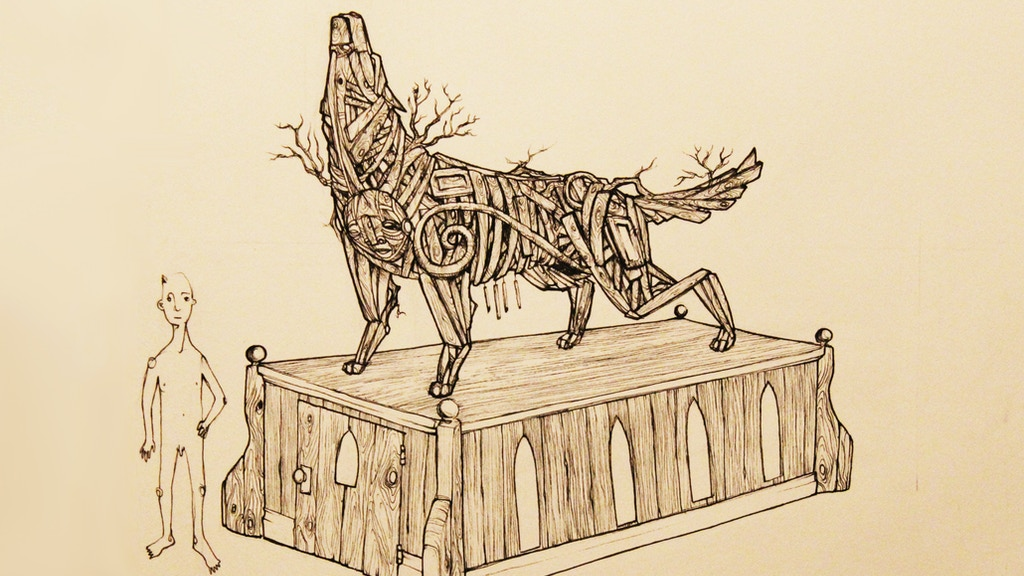 Lobo Madre, a reclaimed-wood effigy & solitary temple space project video thumbnail