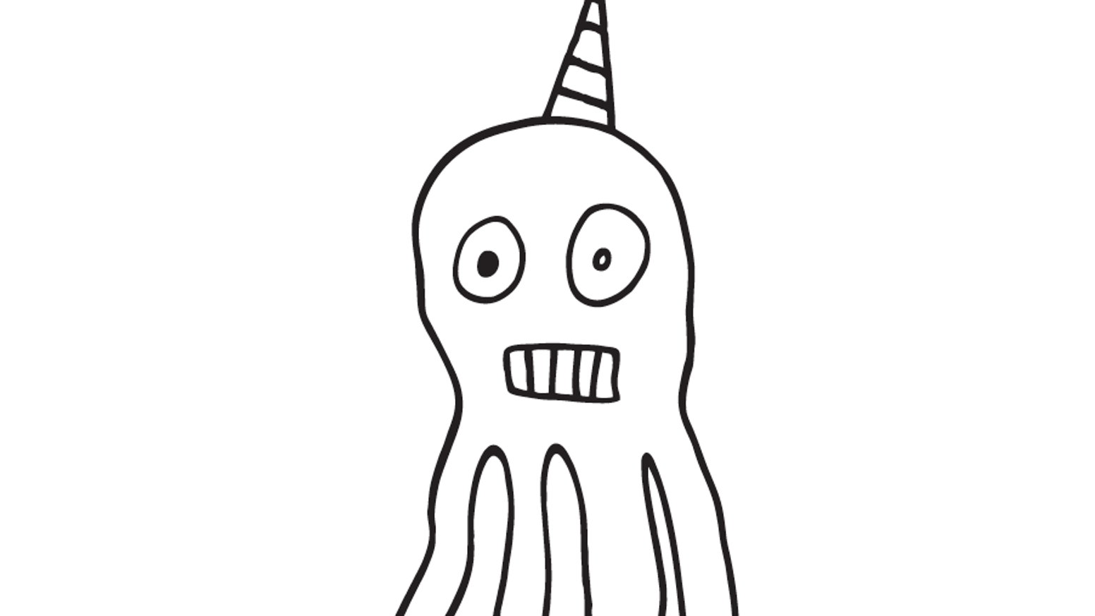 Hello My Name Is Octicorn Half Unicorn Octopus Confused A Book For Anyone Whos Ever