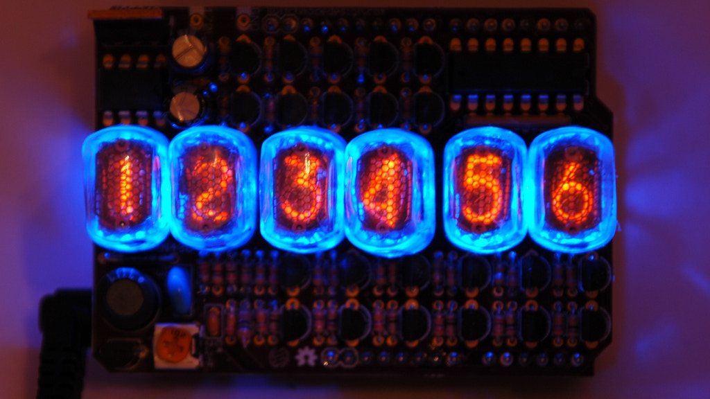 Open Source Nixie Tube Shield project video thumbnail