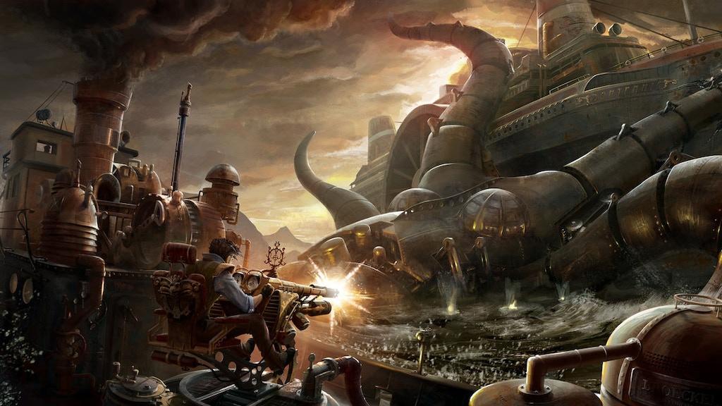 CLOCKWORK UNIVERSE:  Steampunk vs. Aliens Anthology project video thumbnail
