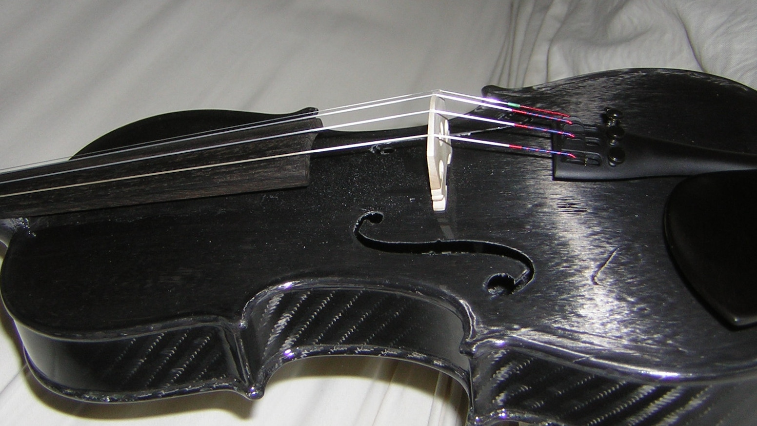Violin- Carbon Fiber, Tooling and Engineering by Matthew
