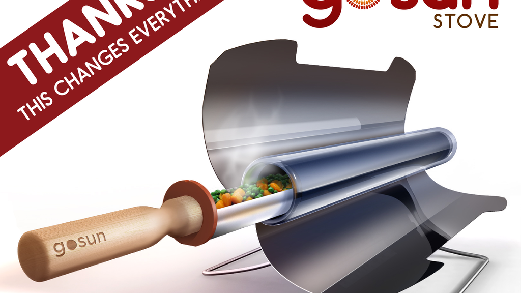 GoSun Stove: Portable, High Efficiency Solar Cooker project video thumbnail