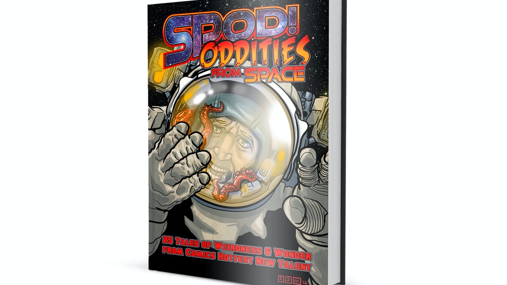 SPOD! - Oddities from Space Comic Anthology project video thumbnail