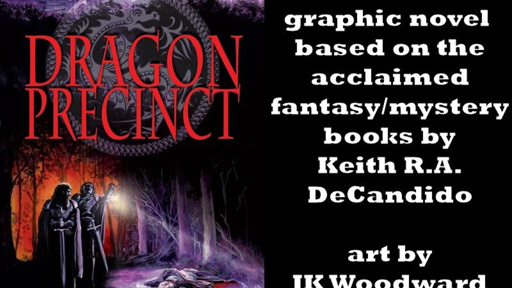 Project image for Dragon Precinct graphic novel