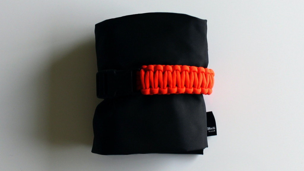 Drawstring Backpack.  Reinvented. project video thumbnail