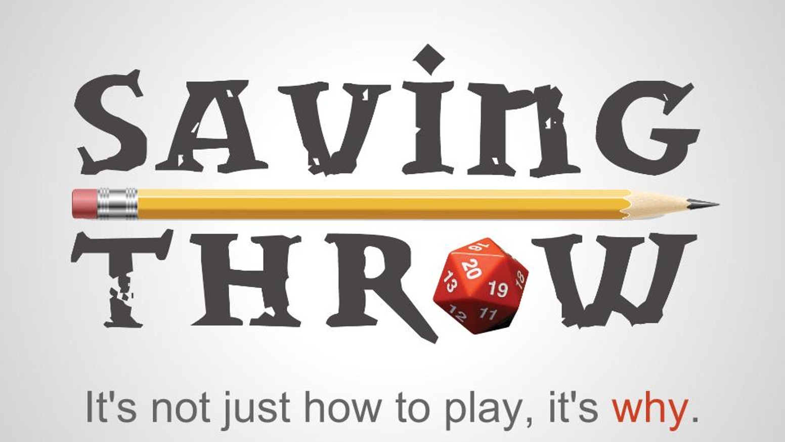 With your help we made Saving Throw. A one-stop YouTube channel devoted to RPGs, and taught Pathfinder. Thank you!