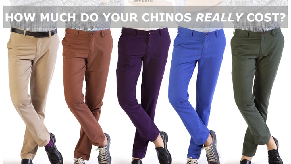 Barley & Britches: The Everyday Chino project video thumbnail