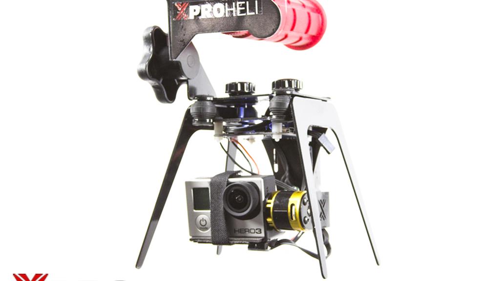 XPG Brushless Gimbal for GoPro Hero 2/3 by XPROHELI project video thumbnail