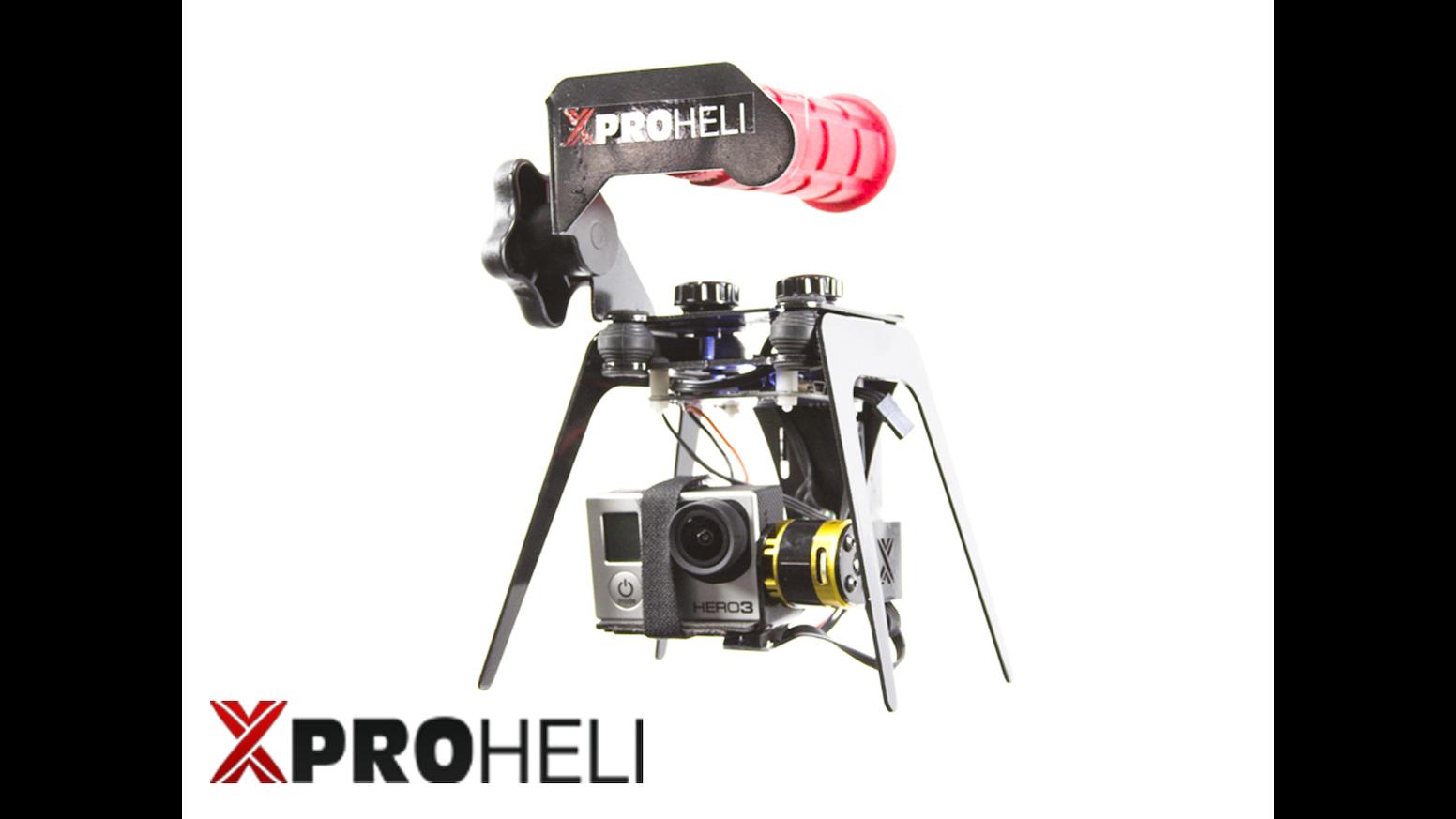 XPG Brushless Gimbal for GoPro Hero 2/3 by XPROHELI by