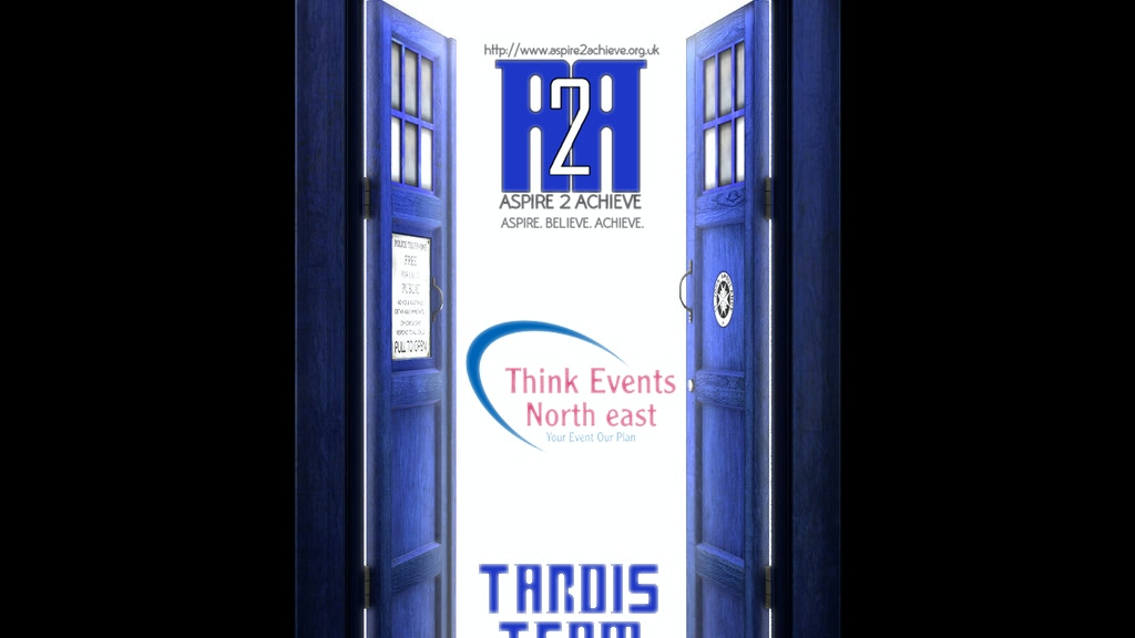 Project image for Build a TARDIS! To fly through space an... I mean the UK!