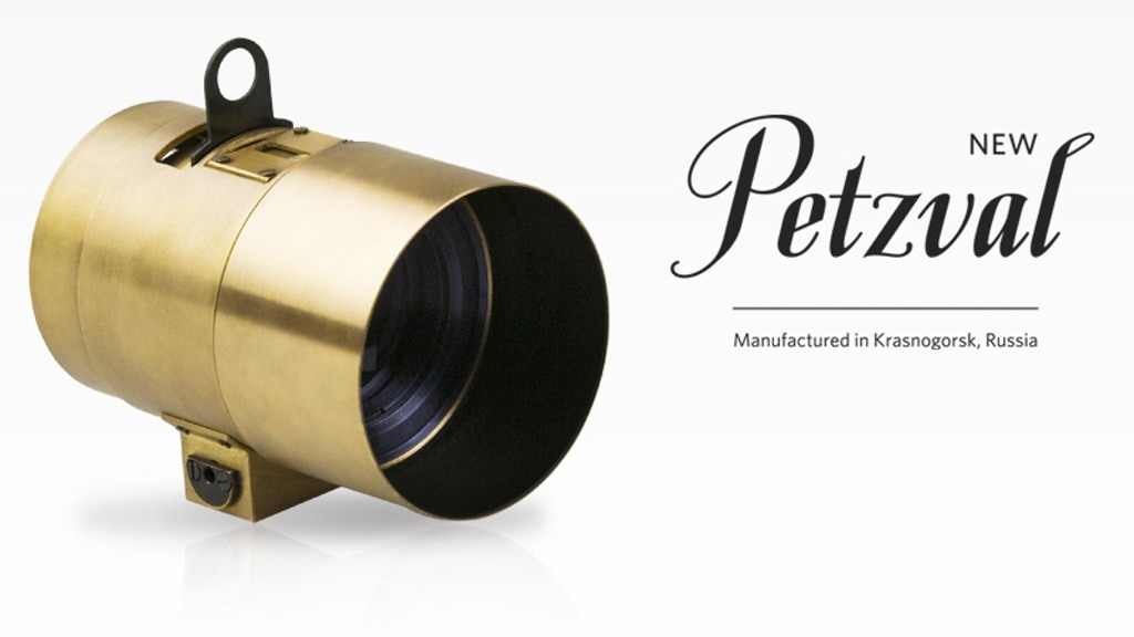 The Lomography Petzval Portrait Lens project video thumbnail