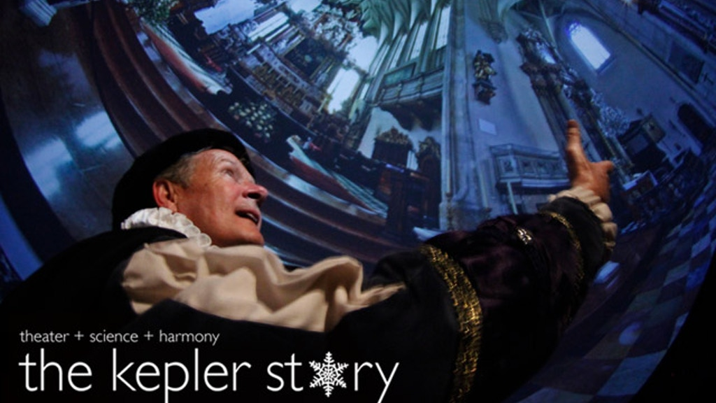 The Kepler Story: Theater + Science + Harmony project video thumbnail