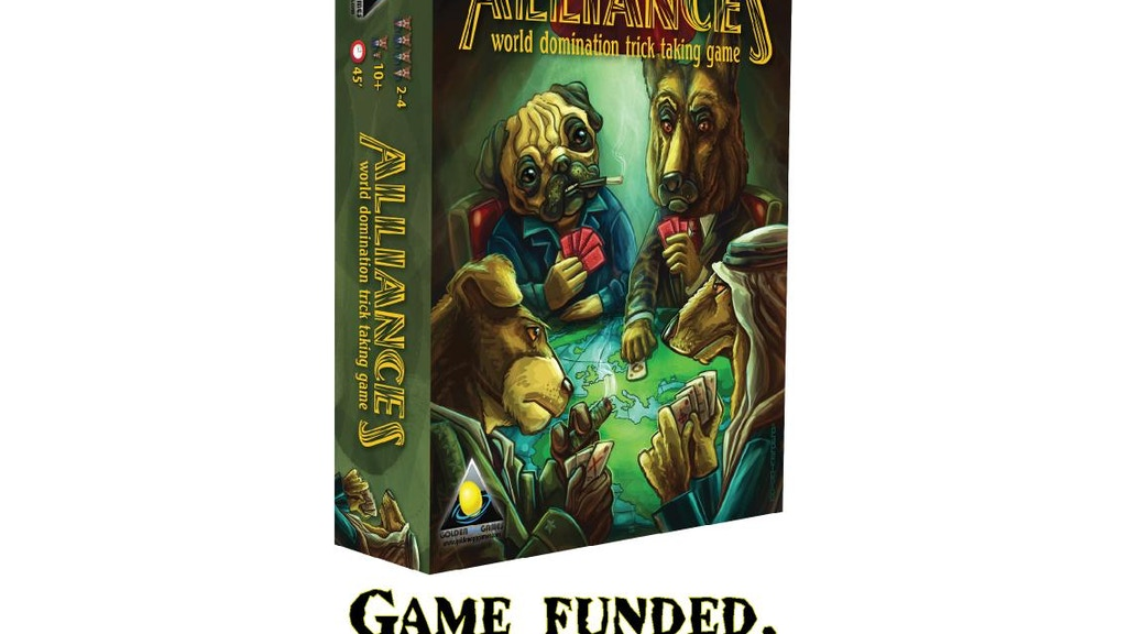 Alliances - World domination board game project video thumbnail