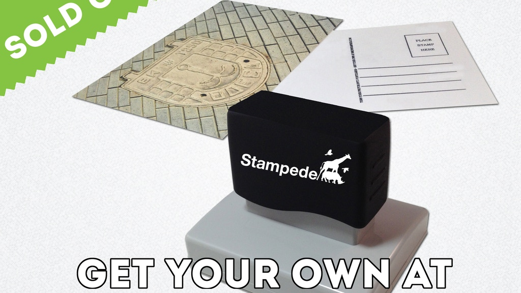 STAMPEDE - A Stamp That Turns Your Photos Into Postcards project video thumbnail