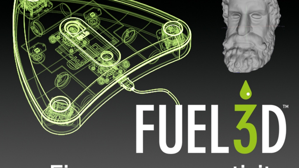 Fuel3D: A handheld 3D scanner for less than $1000 project video thumbnail