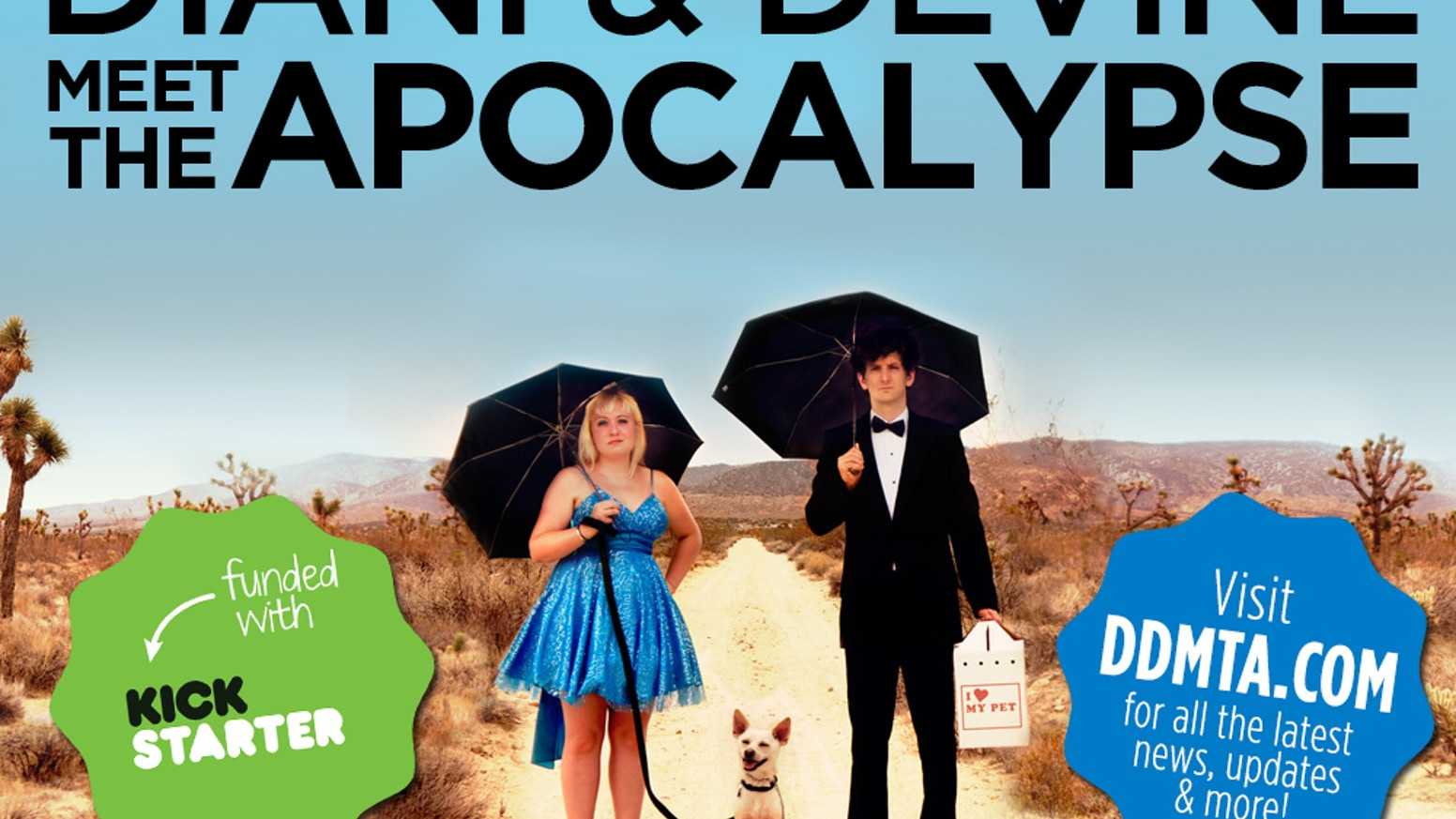 Two comedians. One Apocalypse. Currently in post production. Pre-orders available!