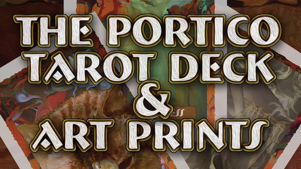 The Portico Tarot Deck and Art Prints project video thumbnail