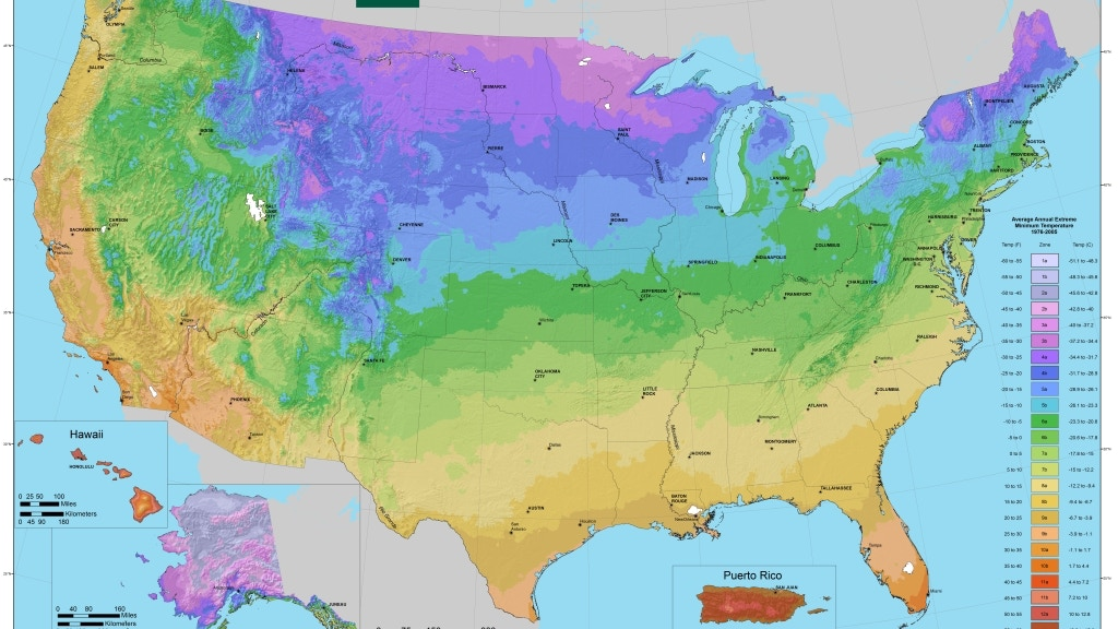 Lithographic Print of the New USDA Plant Hardiness Zone Map project video thumbnail