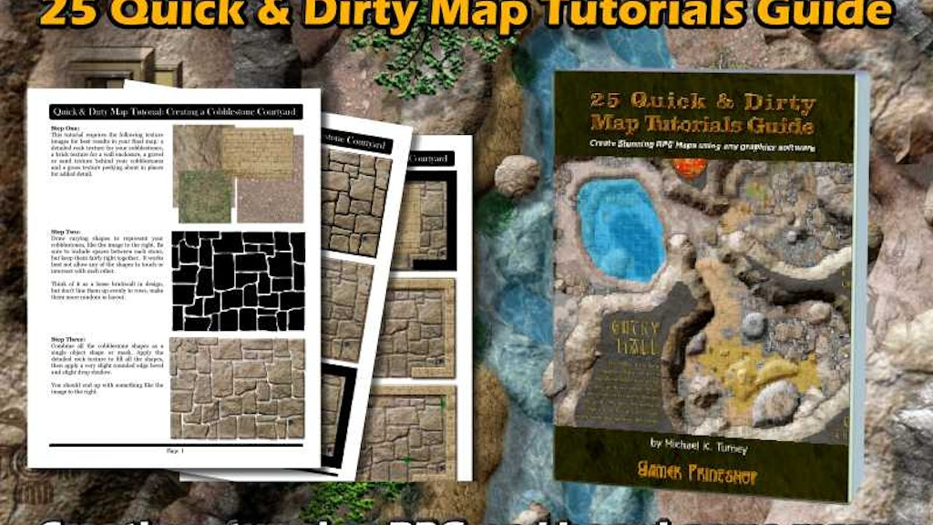 25 Quick & Dirty Map Tutorials Guide Book project video thumbnail