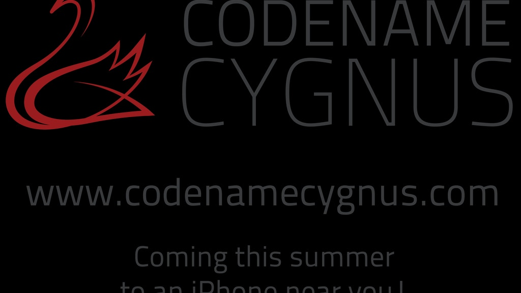 Codename Cygnus - an Interactive Radio Drama for iOS project video thumbnail