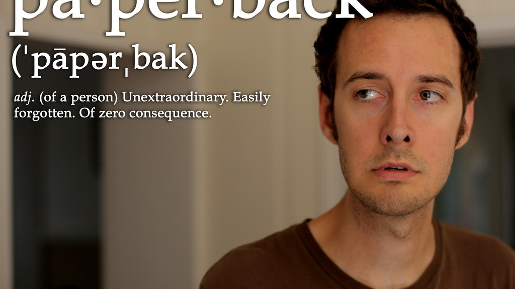 PAPERBACK - A Feature Film project video thumbnail