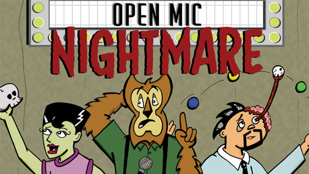 Open Mic Nightmare: A Comic Book project video thumbnail