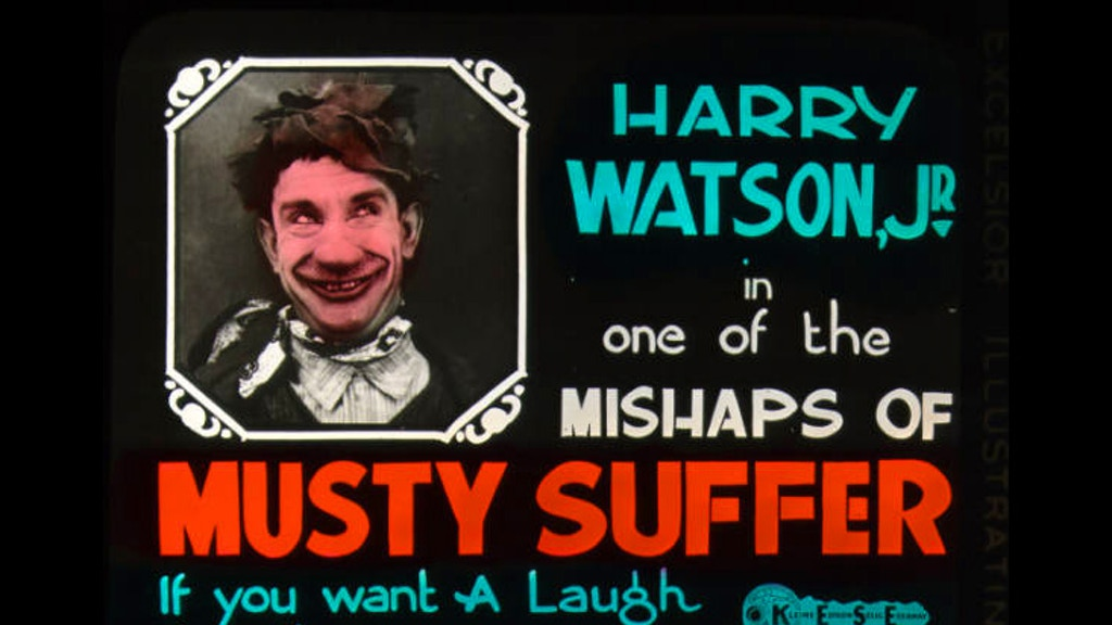 The Mishaps of Musty Suffer - silent film DVD project video thumbnail