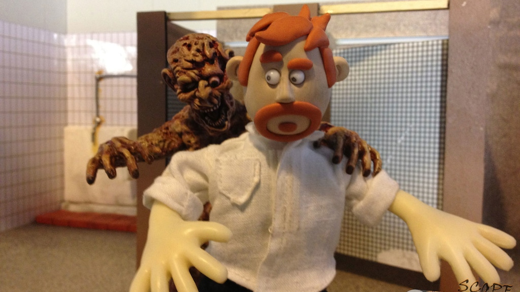 Dan of the Dead - Stop Motion Zombie Film project video thumbnail