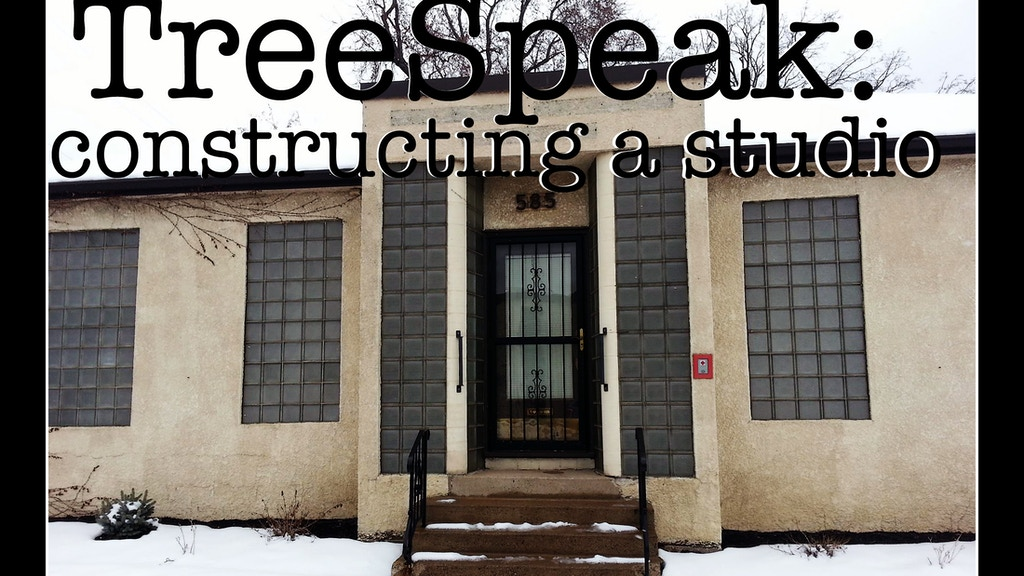 TreeSpeak: Constructing a Recording Studio project video thumbnail