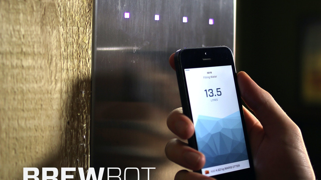 Brewbot: The Smart Brewing Appliance project video thumbnail