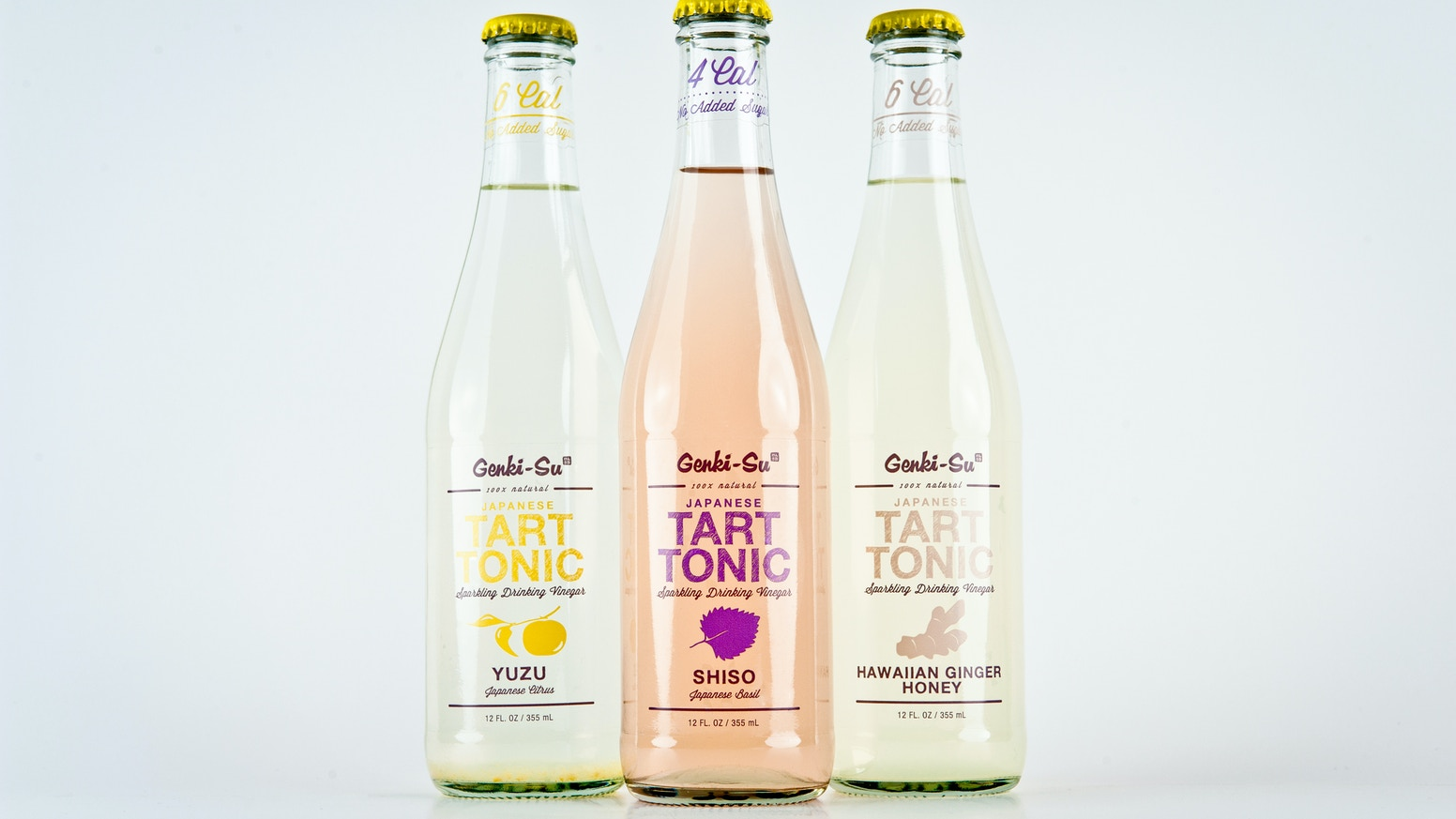 All-natural, sparkling beverage made from coconut vinegar & fresh Japanese ingredients. Refreshing, tart, sweet & tasty!