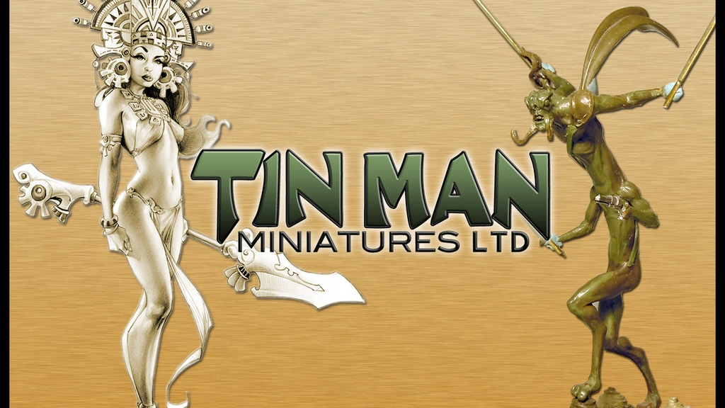 Project image for Tin Man Miniatures Campaign 2013