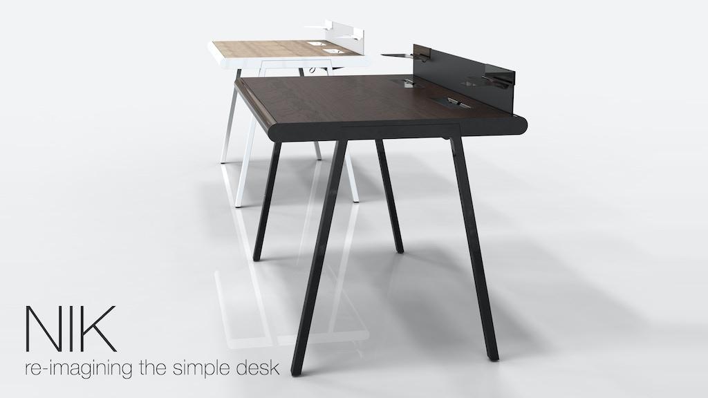 NIK: re-imagining the simple desk project video thumbnail