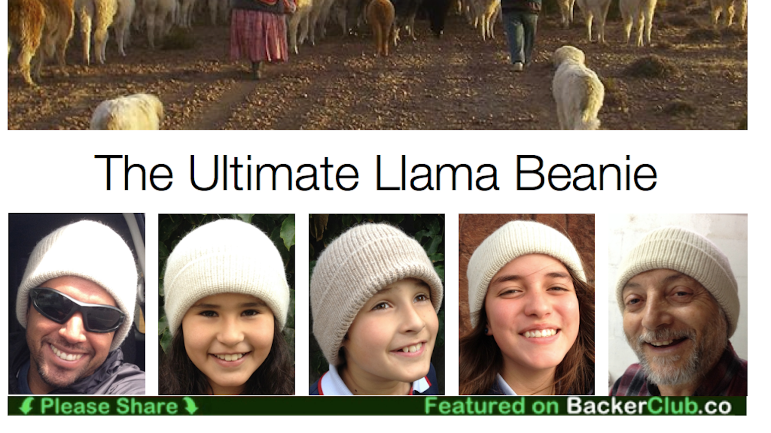 bf2efa396e2 The Ultimate Llama Beanie - Sustainable Tech from the Andes by Jorge ...