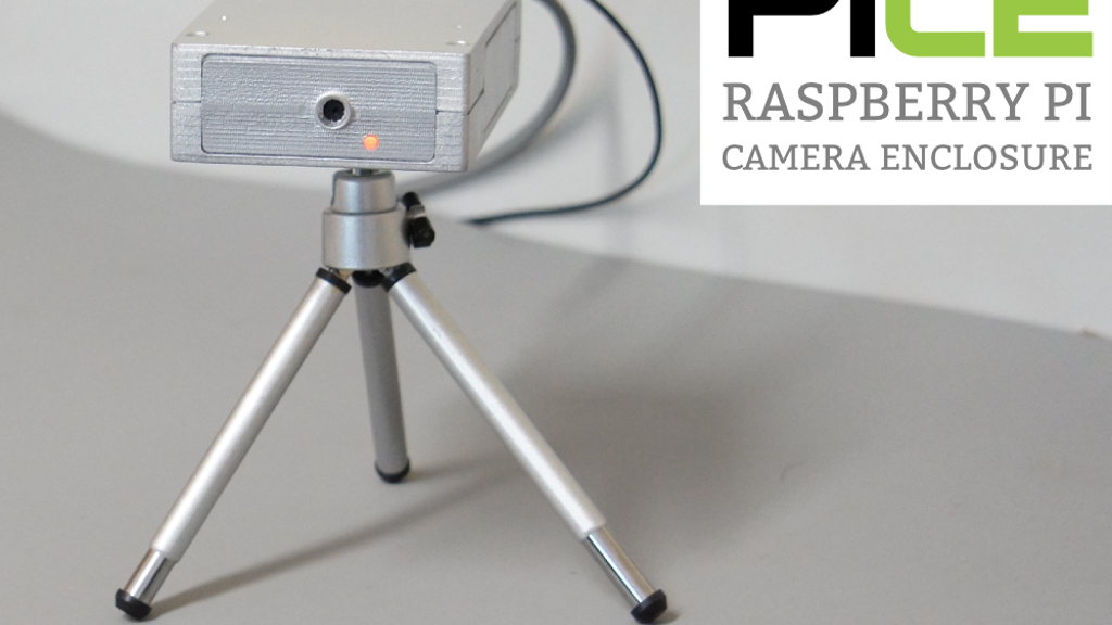 PiCE, The Ultimate Case For Your Raspberry Pi & Camera project video thumbnail