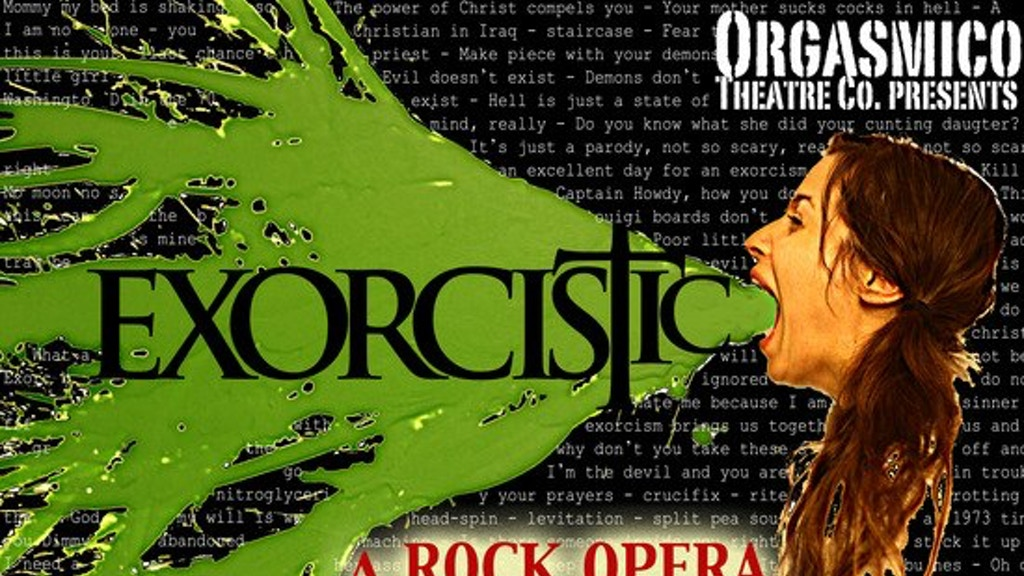 "Exorcistic ""An Exorcist Rock Musical Parody"" project video thumbnail"