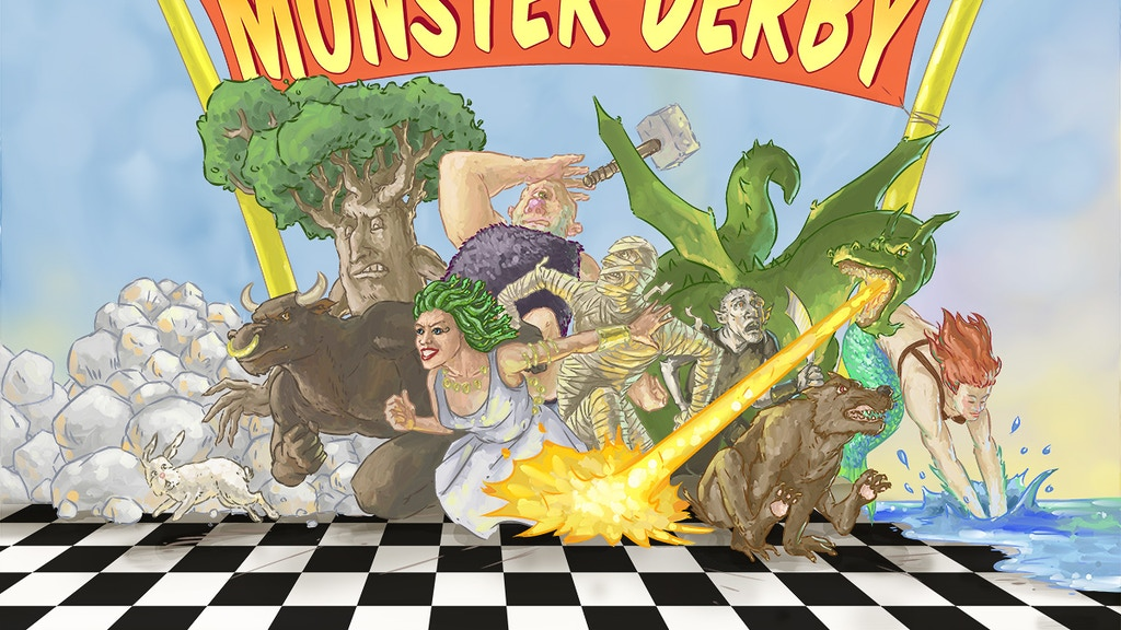 Monster Derby Board Game project video thumbnail