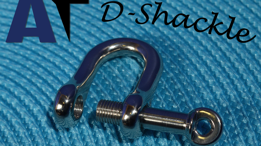 High Strength Titanium Locking D Shackle project video thumbnail
