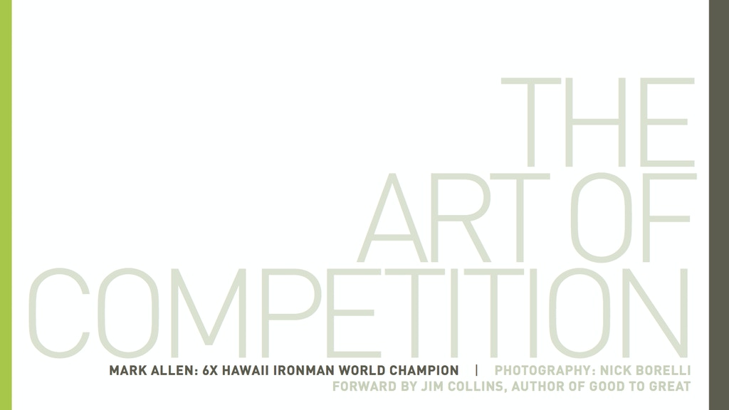 The Art of Competition project video thumbnail