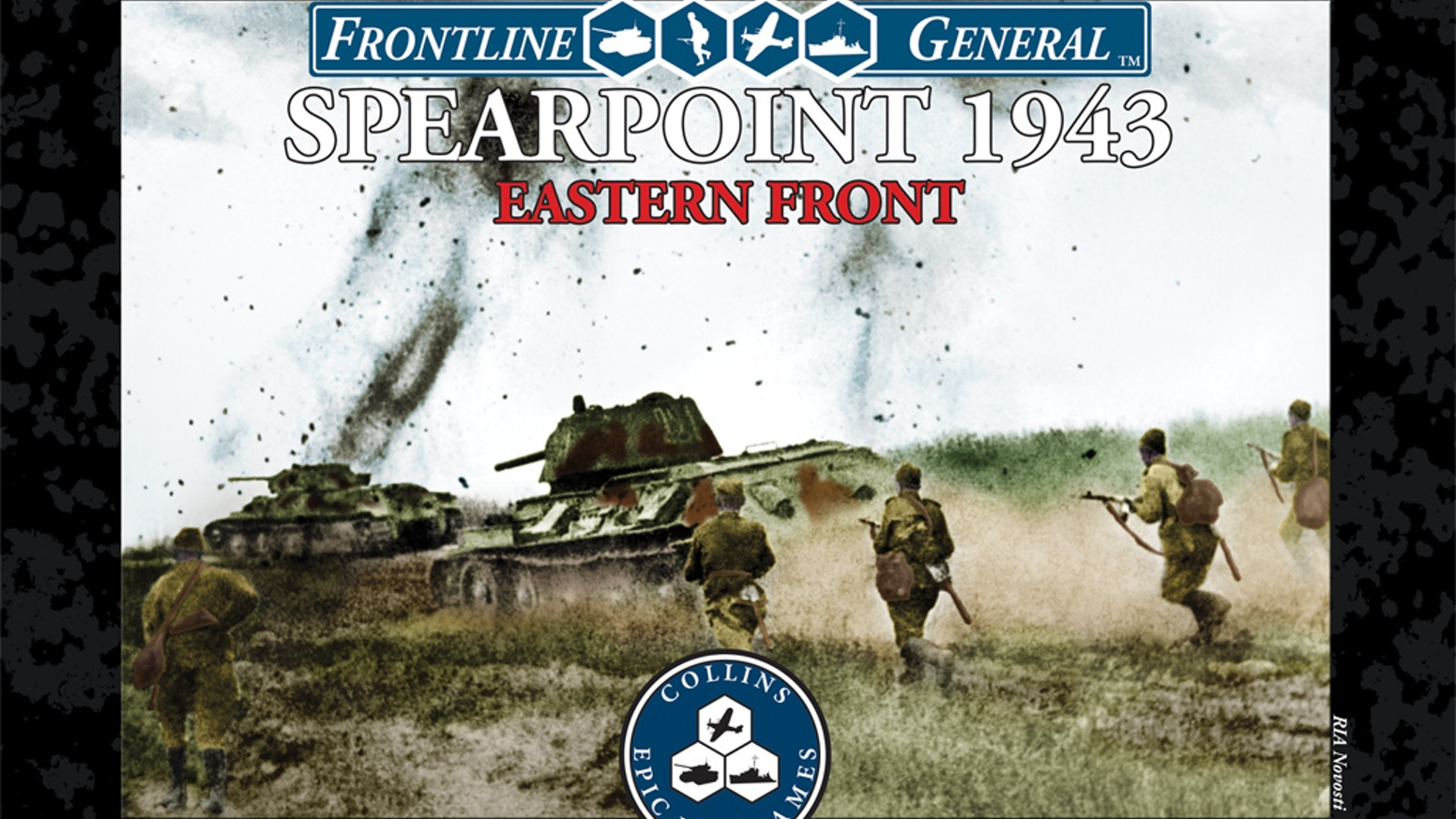 WWII Eastern Front-based 30-minute card wargame, third in the popular award-nominated Spearpoint 1943 line.