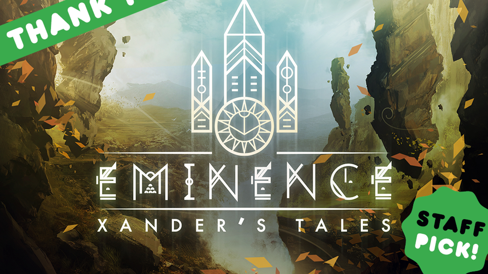 Eminence: Xander's Tales is a card collecting role playing adventure which takes place in a world where fantasy and science collide.