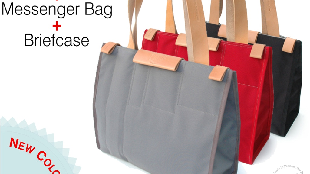 The CarryAll Convertible Tote project video thumbnail