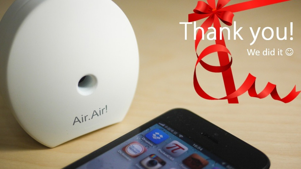 Air.Air! ~ Portable Air Quality Detector project video thumbnail