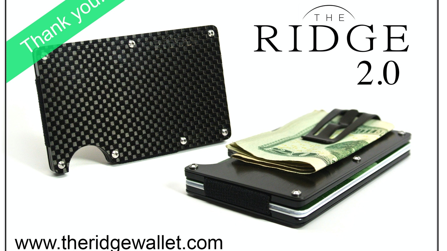 More than a Minimalist Wallet. The re-designed wallet system constructed from Aluminum, Titanium, and Carbon Fiber