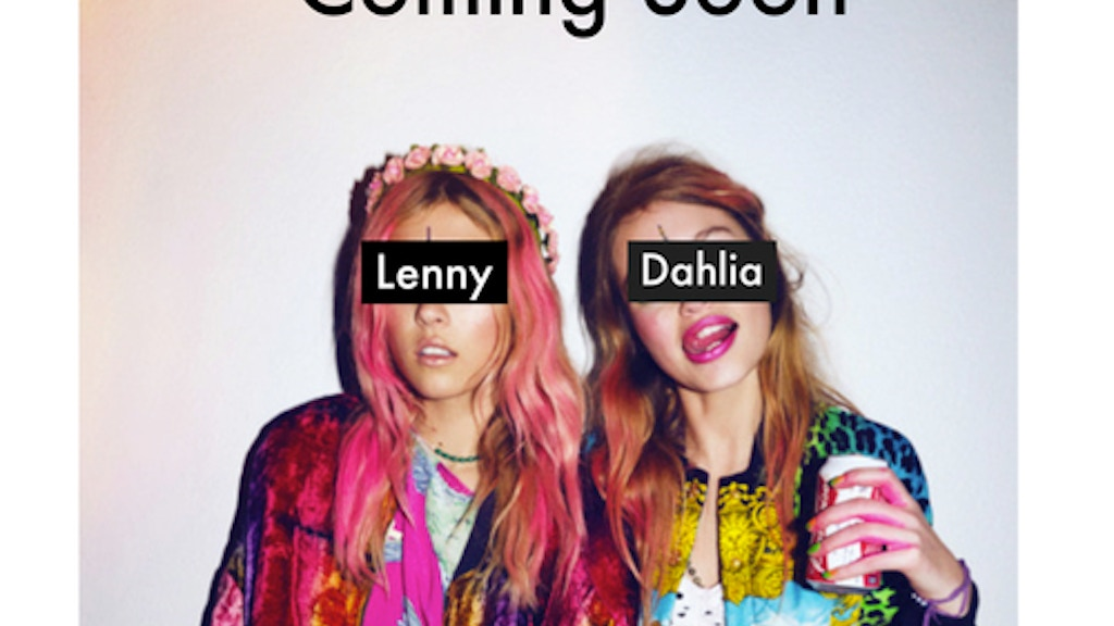Lenny&Dahlia A Short Film by Sita Young project video thumbnail