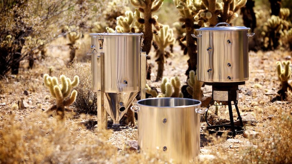 Bru Gear stainless steel brewing kettles & fermenters project video thumbnail