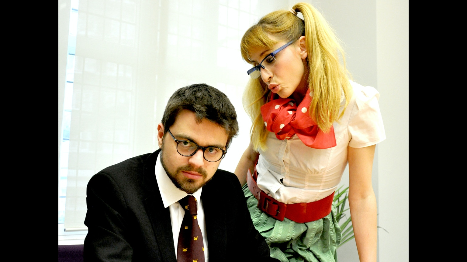 The secretary turned ceo by danyal dhondy kickstarter for Farcical opera