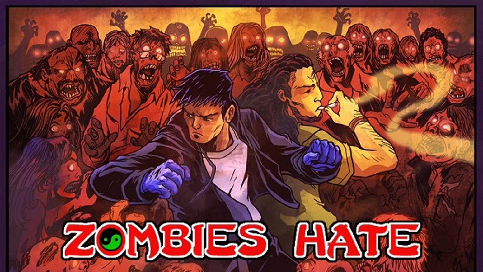 In this comic book, a mismatched pair fight to survive in a post zombie apocalypse world. Like comics? Back a graphic novel with punch!
