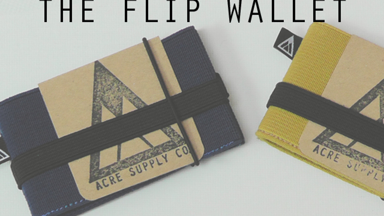 Keeping a tight grip on your cards and more all day long. Fuss free living made easy with the minimal Flip Wallet.